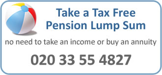 Take a Tax Free Lump sum form your Pension Fund