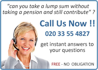 Take a 25% pension lump sum without taking a pension and still contribute