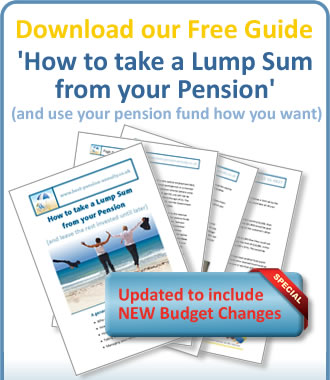 Download our Free Guide to taking a Lump Sum from your pension