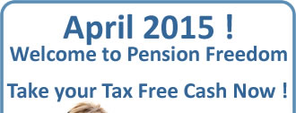 Don't wait until April 2015 to take your Pension Lump Sum