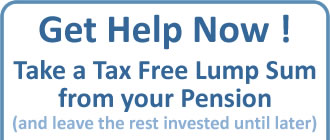 Get Help taking a pension lump sum