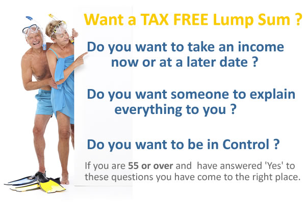 Do you want a Tax Free Lump Sum from your pension